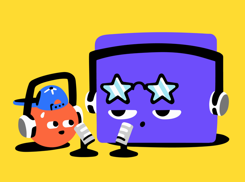 Famous person =) star famous famous people interview restream stream streaming illustration