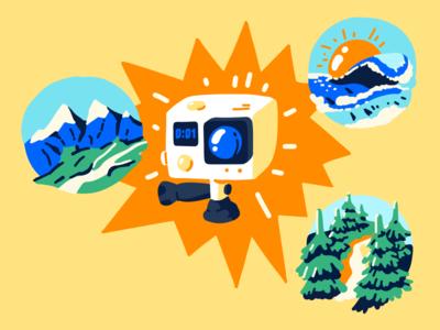 Travel, make videos and live stream