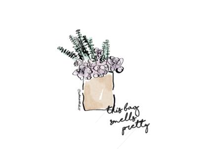 bag o' flowers