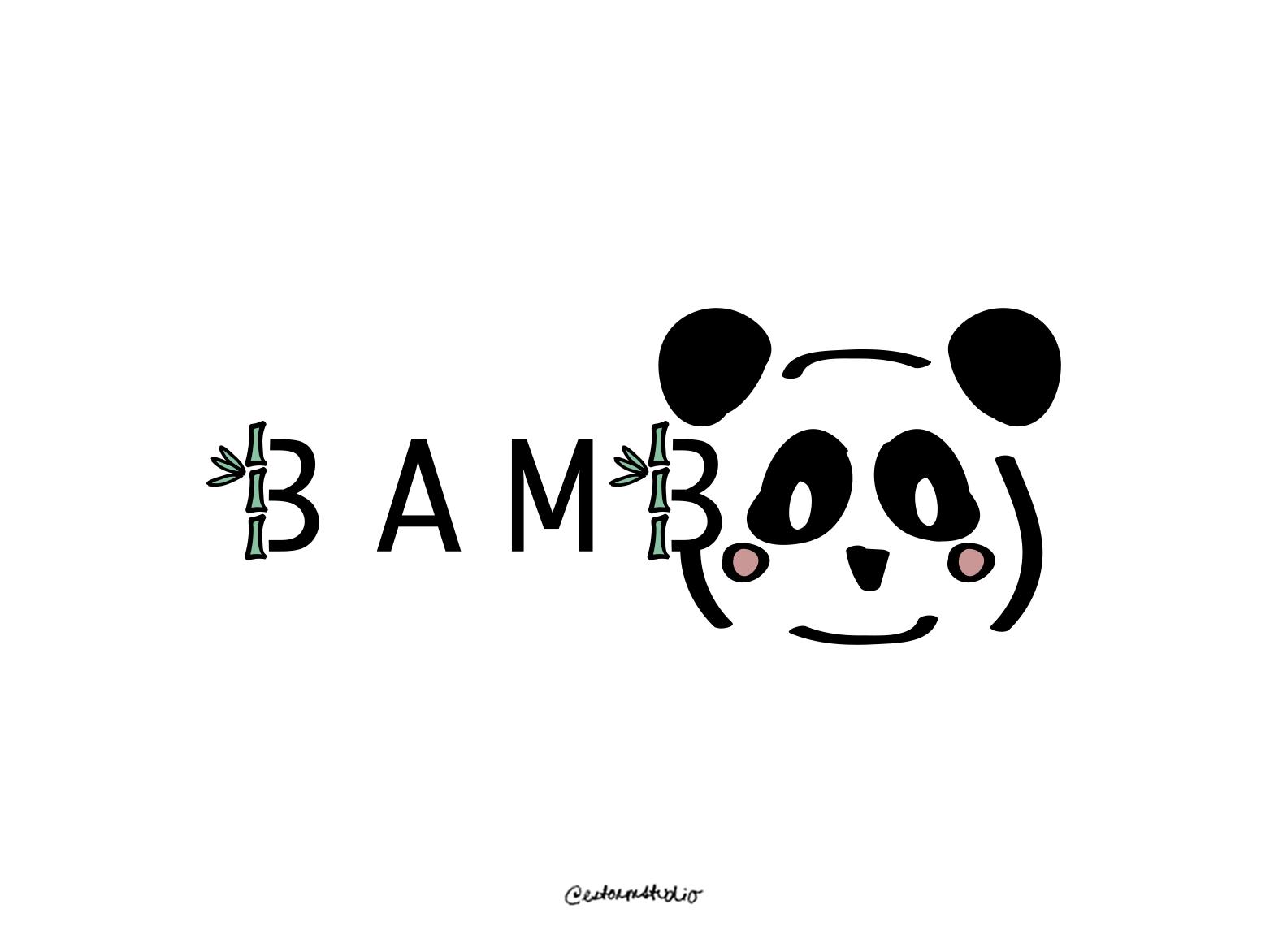 03 / Bamboo daily logo challenge vector logo campaign website advertising branding minimal icon illustration design