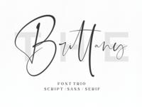 The Brittany // Font Trio