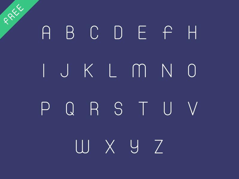Flat Font flat arabic fonts typeface arabic-font jozoor illustration typography logotype