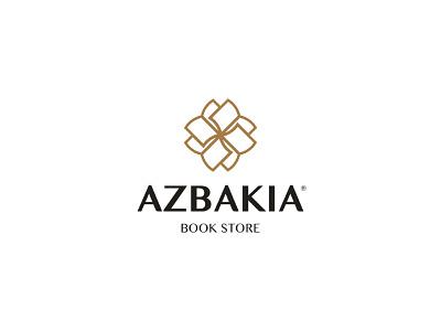 Azbakia logodesign branding azbakia book store logo book