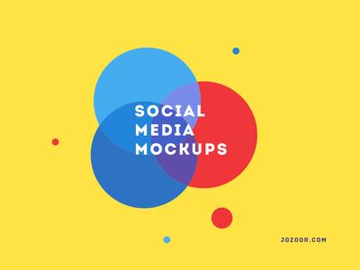 Social Media Mockup freebie
