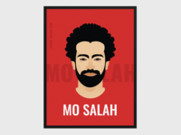 Mohamed Salah Poster Freebie