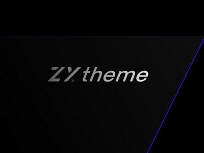 ZYtheme black mock up lo y z
