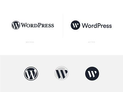 WordPress Logo Revamp branding revamp redesign logo wp wordpress