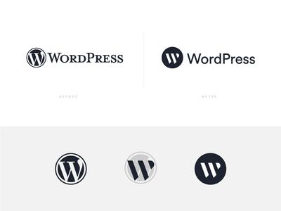 WordPress Logo Revamp