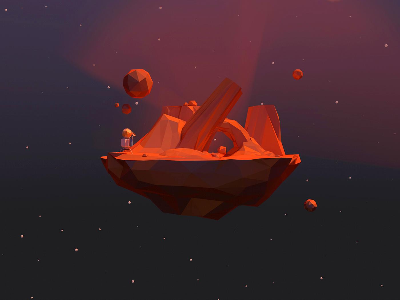 Desert miniplanet