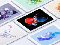 Tablet Wallpaper wallpaper c4d illustration 3d chrome os tablet app