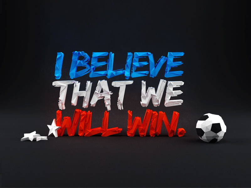 I believe that we will win by jeremiah shaw dribbble i believe dribbs publicscrutiny Image collections