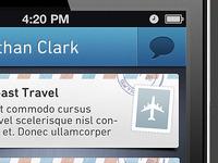 Communication iPhone App
