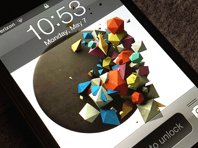 Dribbble iphone wallpaper