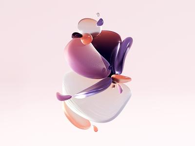 Balance simplicity minimal art balance design illustration c4d 3d