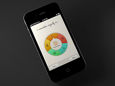 Fancy Spinner Wheel ios iphone ui app spinner selector wheel colors fancy texture