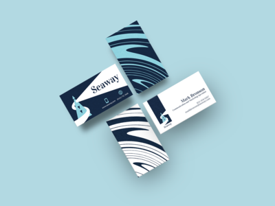 Business Cards. Seaway identity