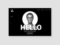 Hello ui landing page design by damilola emmanuel akinosun