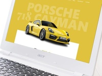 Porsche 718 Cayman Design