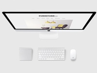 Furniture Company Website Design