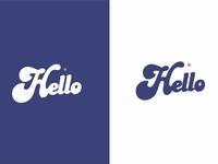Hello Typography Design