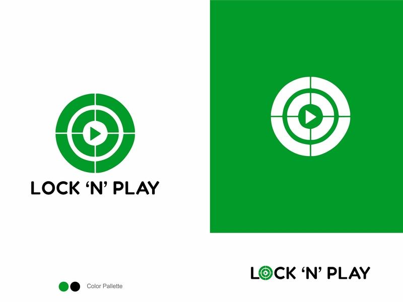 Lock 'N' Play logo design