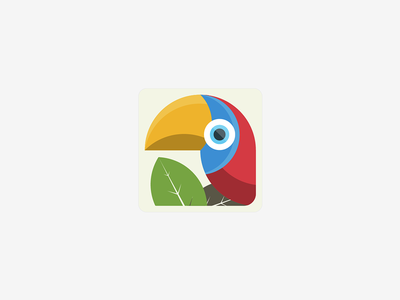 Parrot II .. illustration for fun