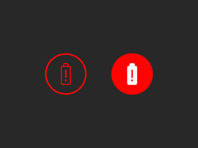 Battery Notification Icon