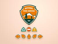 BSDS Thunderdome: NPS Refresh bsds vector design branding badge logo icon illustration boston nps