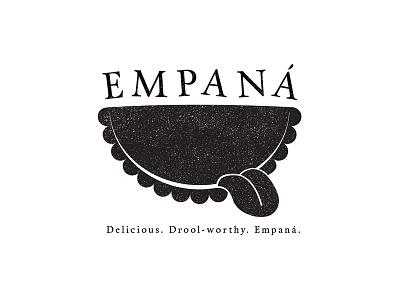 Empaná Empanadas logo branding empanadas tasty tongue