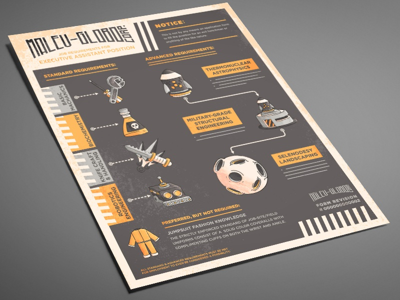 Henchman application print dribbble