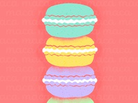 Macarons Illustration