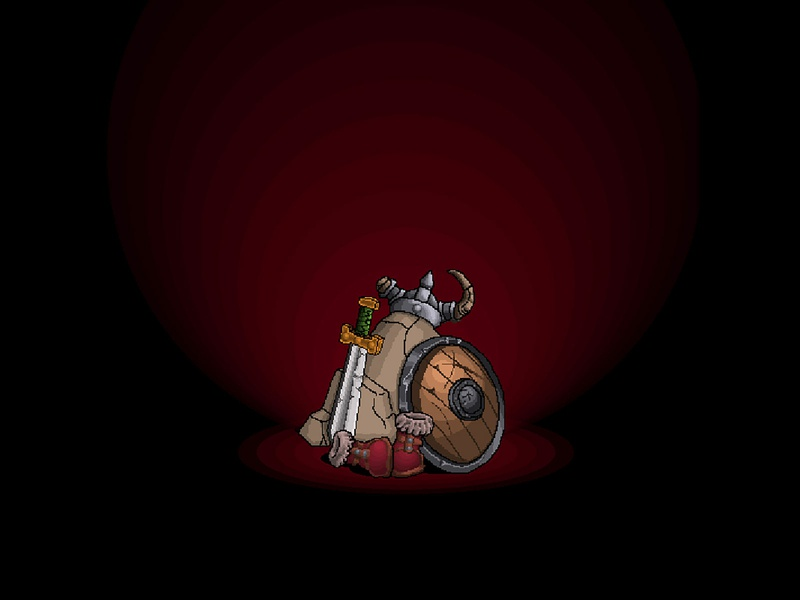 Hp The Lost Vikings Final helm boots shield sword pixel retro lost vikings vikings 16 bit 16bit design illustration