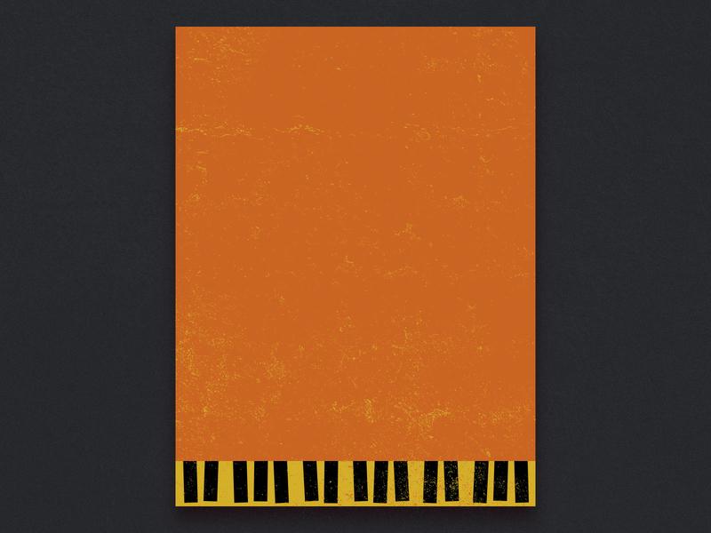 BSDS Thunderdome: Minimalist Band Poster minimalism minimal the black keys black keys poster vector design illustration