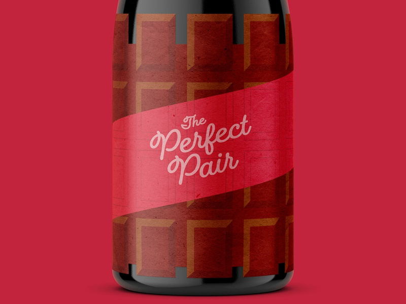 BSDS Thunderdome: Wine Label chocolate merlot shiraz syrah nouveau cabernet red wine wine label packaging packagedesign vector design logo illustration