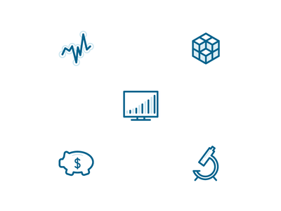 Product Steps two-tone icons