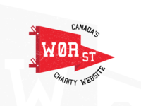 Canada's Worst Charity Website Pennant