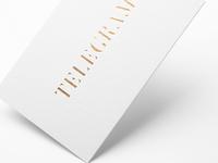Telegram: Gold Foil Edition