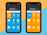 Danio Diary App UI