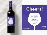 Cheers! Wine Label