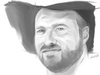 Greyscale Jeff Portrait