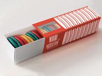 Modern Macaroon - Box Mockup