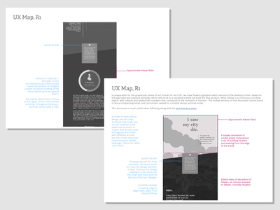 I Saw My City Die: A Red Cross Report design for good design website vector illustration animation ui web ux