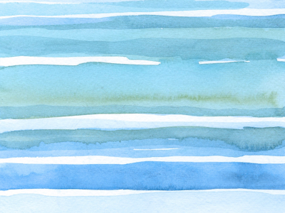 Oceanwaves water watercolor illustration painting abstract ocean sea color