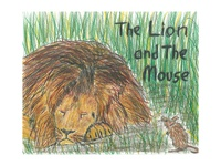 """""""The Lion and the Mouse"""" Cover Illustration"""