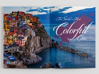 """""""The Worlds Most Colorful Cities"""" Magazine Spread 2"""