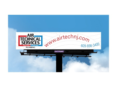 HVAC Company Billboard 3 playful fun hvac company hvac outdoor advertisement out of home media advertisement ad out-of-home out-of-home media outdoor advertising ooh advertising out of home billboard air