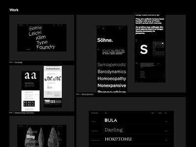 dan.newman.is site portfolio black