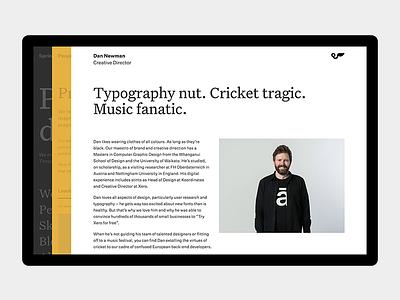 Springload—Profile profile site