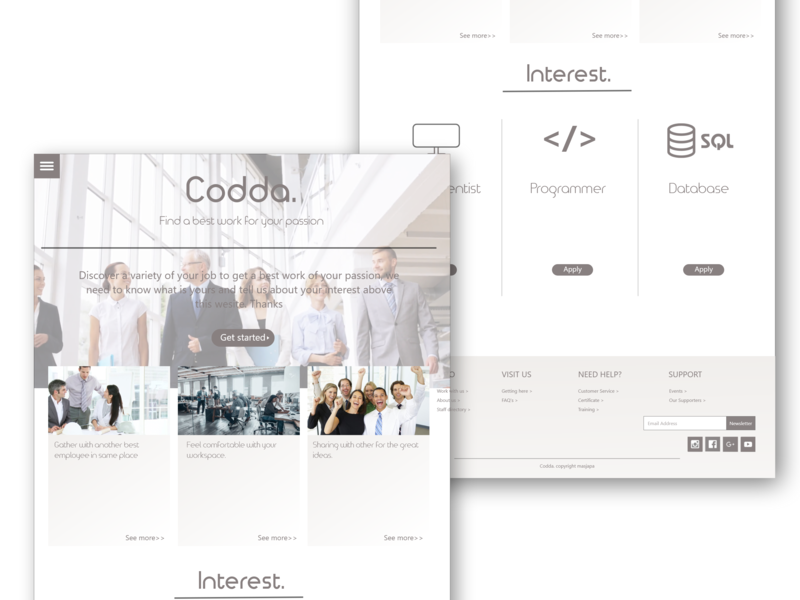 IT Job Page