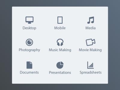 Appleseed Training Icons apple tutorials tutorial mac ios concept icons appleseed training appleseed